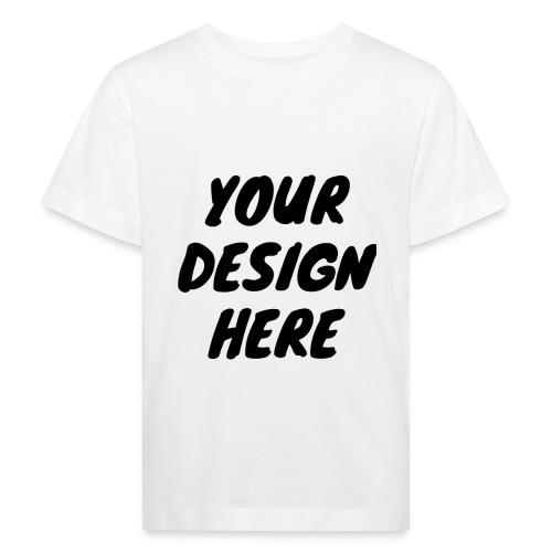 print file front 9 - Kids' Organic T-Shirt