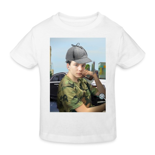 Detektiv Laurin - Kinder Bio-T-Shirt