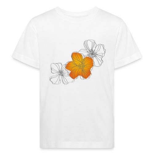 Flowers - Camiseta ecológica niño