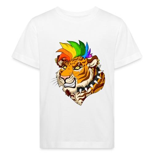 Punk Tiger - Ekologiczna koszulka dziecięca