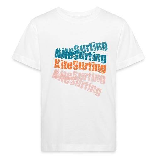 Kiteboard   Zensitivity beach - Kinderen Bio-T-shirt