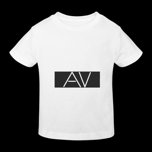 AV White - Kids' Organic T-Shirt