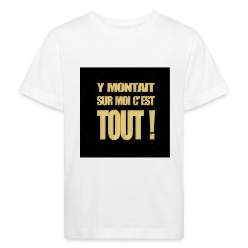 badgemontaitsurmoi - T-shirt bio Enfant