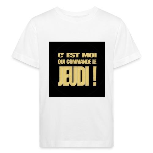 badgejeudi - T-shirt bio Enfant