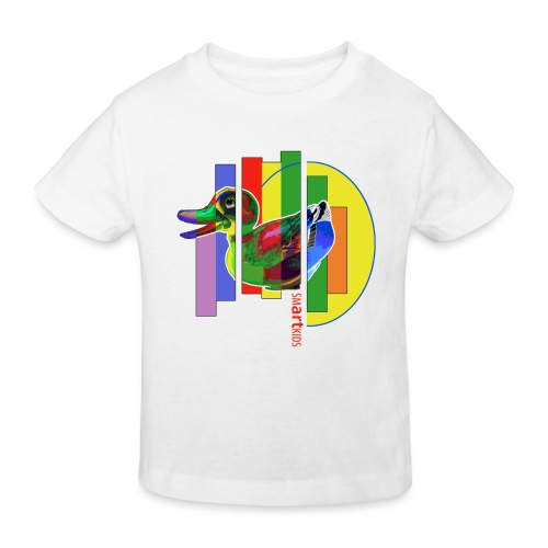 smARTkids - Gutsy Duck - Kids' Organic T-Shirt