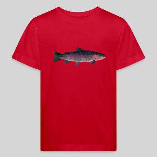 Trout - Lasten luonnonmukainen t-paita