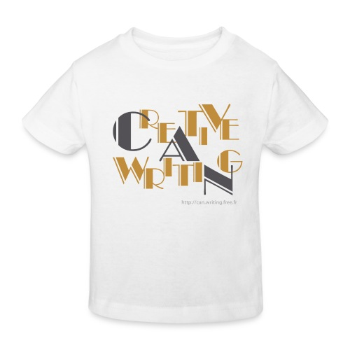 cw logo black - Kids' Organic T-Shirt