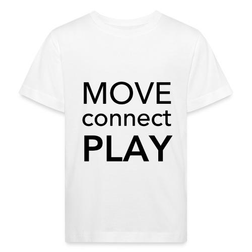 Move Connect Play - AcroYoga International - Kids' Organic T-Shirt