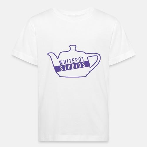 Whitepot Studios Logo - Kids' Organic T-Shirt