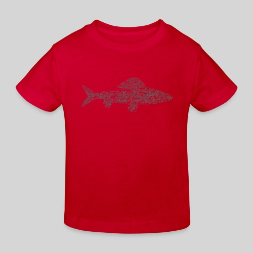 grayling - Lasten luonnonmukainen t-paita
