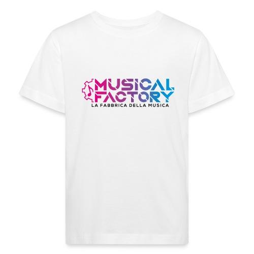 Musical Factory Sign - Maglietta ecologica per bambini