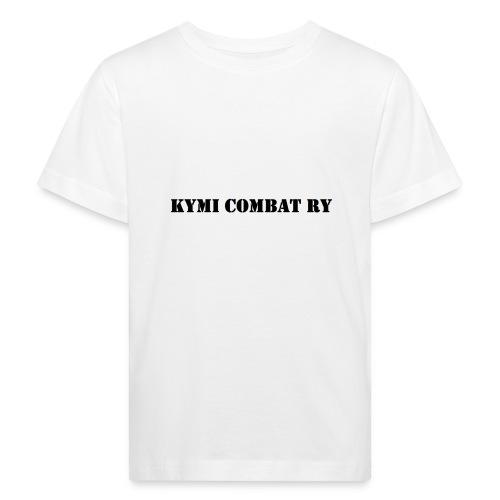 kc musta teksti transparent png - Lasten luonnonmukainen t-paita