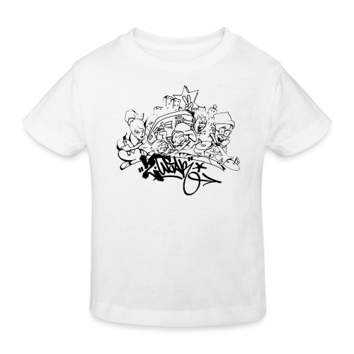 Hip Hop Jam - Organic børne shirt
