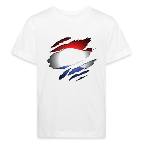 Dutch Inside: Vlag - Kinderen Bio-T-shirt