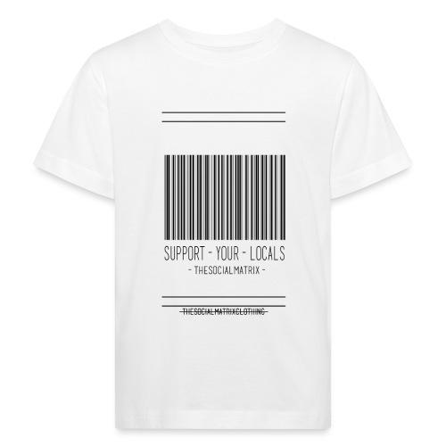 STEUN JE LOKAAL - Kinderen Bio-T-shirt