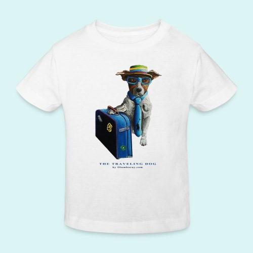 The Traveling Dog - Kids' Organic T-Shirt