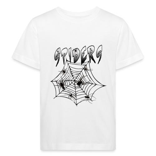 Spiders - Lasten luonnonmukainen t-paita