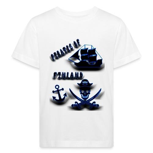 Pirates - Lasten luonnonmukainen t-paita
