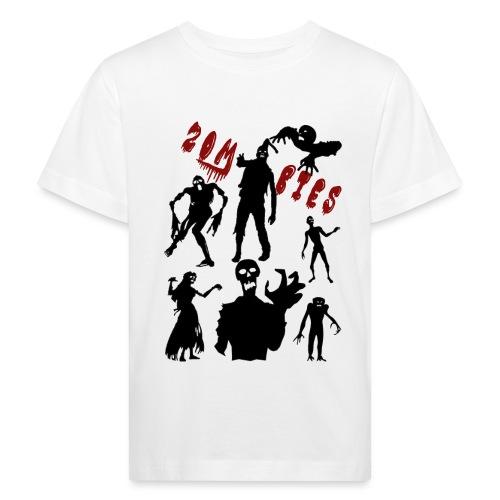 Zombies - Lasten luonnonmukainen t-paita
