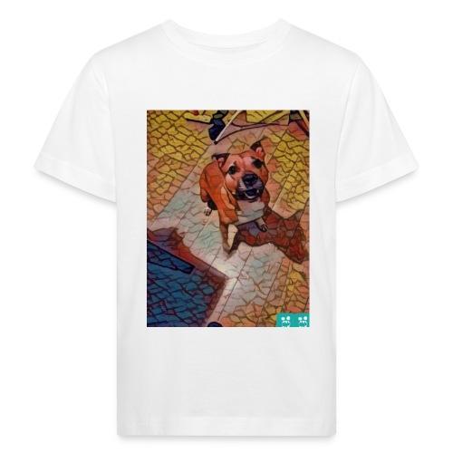Foxy in kleur - Kinderen Bio-T-shirt