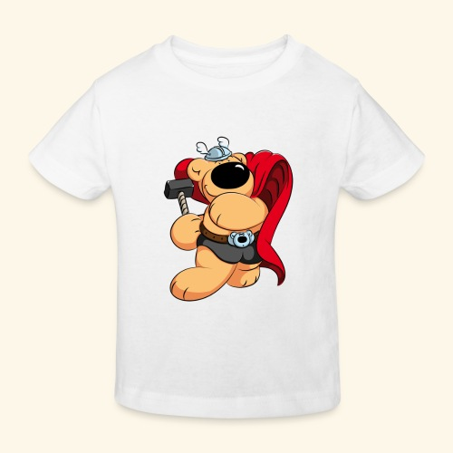 Der mächtige Thorbär - Kinder Bio-T-Shirt