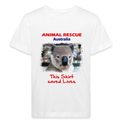 Australien KOALA RESCUE - Spendenaktion - Kinder Bio-T-Shirt