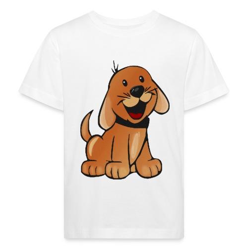 cartoon dog - Maglietta ecologica per bambini