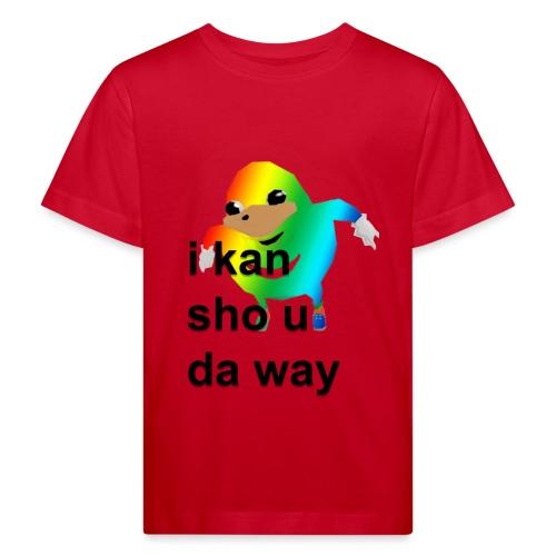uganda - Lasten luonnonmukainen t-paita