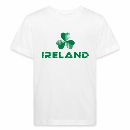 Supporting Ireland Shamrock - Kids' Organic T-Shirt
