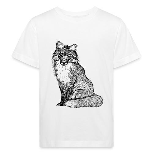 Fuchs Bild Tier Geschenk Abenteuer Süß Liebe - Kinder Bio-T-Shirt