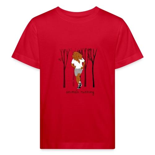 Lion running - T-shirt bio Enfant