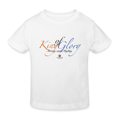 King of Glory by TobiAkiode™ - Kids' Organic T-Shirt