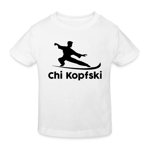 chi kopfski - Kinder Bio-T-Shirt