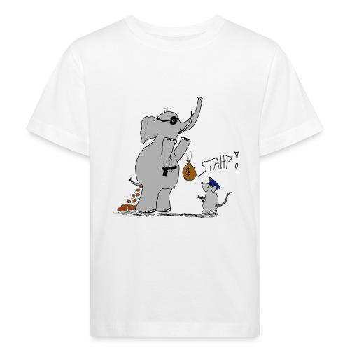 Bankraub Fail - Kinder Bio-T-Shirt