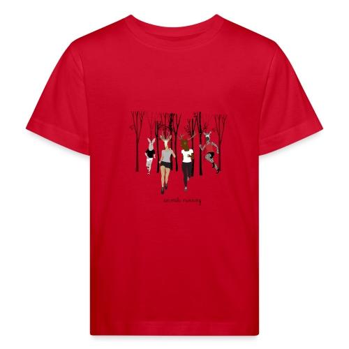 Groupe animals running - T-shirt bio Enfant