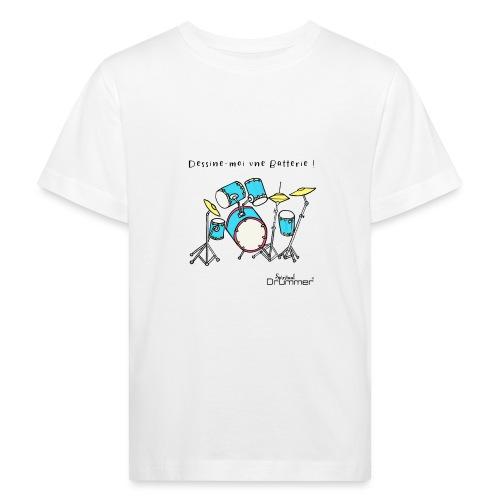 Luigi Drum - Kids' Organic T-Shirt