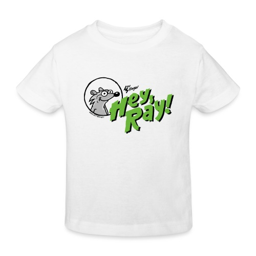 Hey Ray Logo green - Kinder Bio-T-Shirt