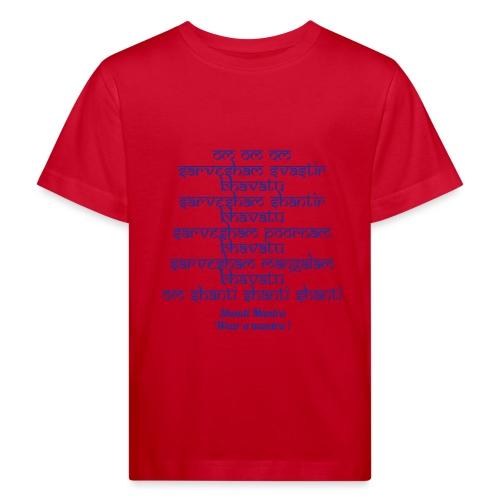 Om Sarvesham - Maglietta ecologica per bambini