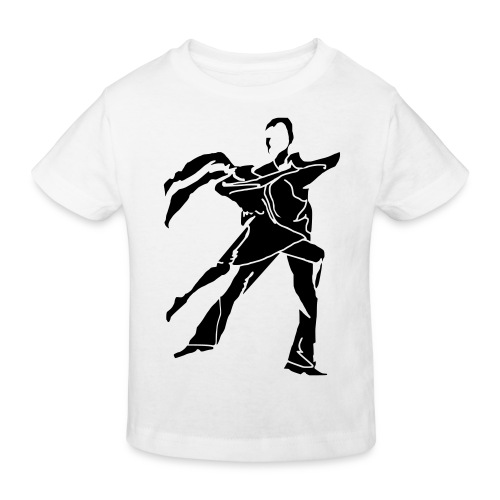 dancesilhouette - Kids' Organic T-Shirt