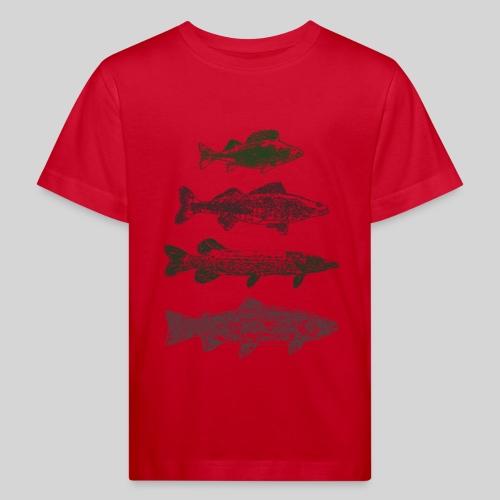 Lake - Lasten luonnonmukainen t-paita