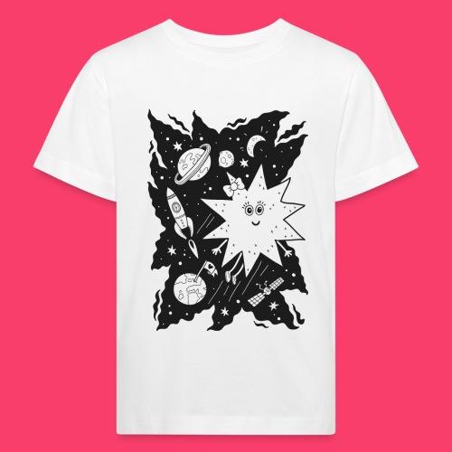 Stella Stern zum Ausmalen - Kinder Bio-T-Shirt