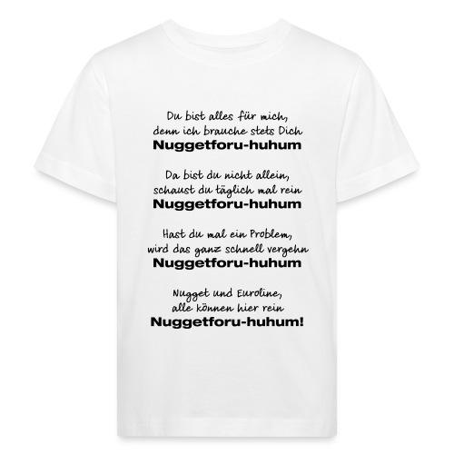 Du bist alles für mich - Kinder Bio-T-Shirt