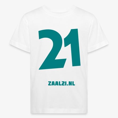 zaal-achterkant - Kinderen Bio-T-shirt