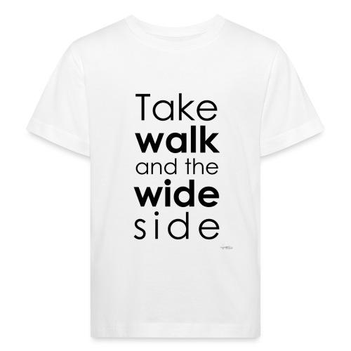 LOU-REDD-walk-black - T-shirt bio Enfant