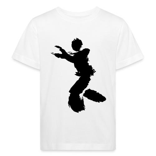 Wing Chun / Kung Fu Tusche Figur VEKTOR - Kids' Organic T-Shirt