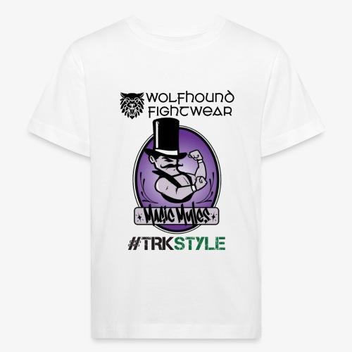 myles front 0518 - Kids' Organic T-Shirt