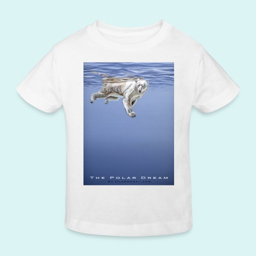 The Polar Dream - Kids' Organic T-Shirt