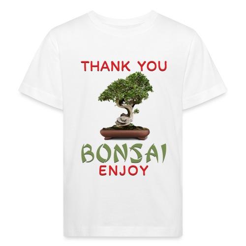 Dziękuję Ci Bonsai - Ekologiczna koszulka dziecięca