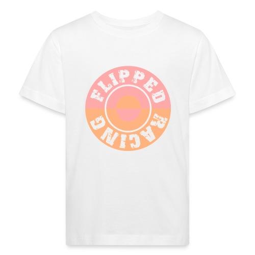 Flipped Racing, Round - Kids' Organic T-Shirt