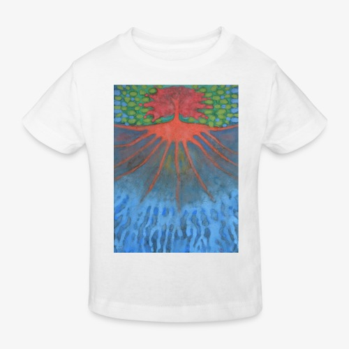 Drzewo Źycia - Ekologiczna koszulka dziecięca